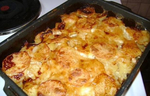 Картофель по французски